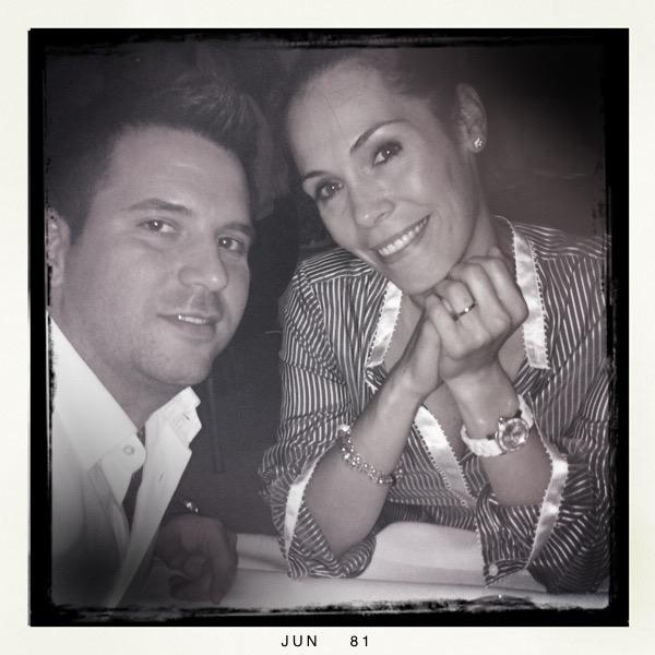 Michele conoció a Pilar en Londres. El amor de su vida.