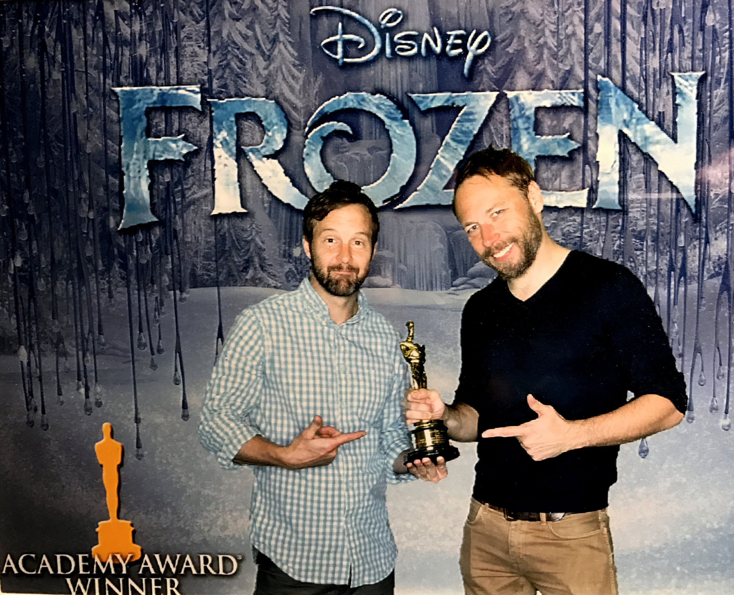 FILM CREDITS - FROZEN • WRECK-IT RALPH • TANGLED • FEAST THE POLAR EXPRESS • BEOWULF • GEFORCE THE CHRONICLES OF NARNIA • FROZEN FEVER