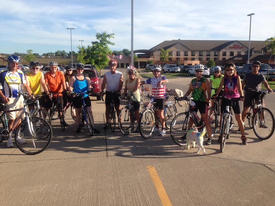 Siouxland Cyclists Club Rides