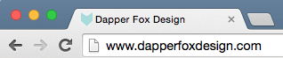 Website Branding Best Practices by Dapper Fox Design - How to Make a Favicon