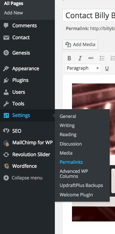 Permalinks on Wordpress - Dapper Fox Design