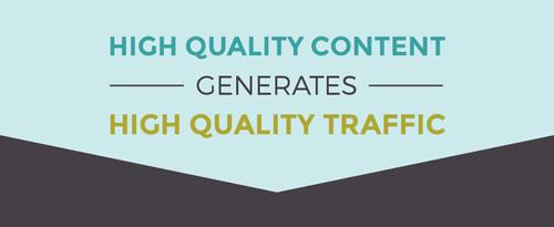 High Quality Content Generates High Quality Traffic - Dapper Fox Design//  Website Design - Branding - Logo Design - Entrepreneur Blog and Resource