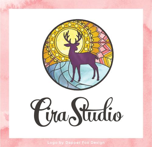 Cira Studio Logo Design by Dapper Fox Design // Website Design - Branding - Logo Design - Entrepreneur Blog and Resource