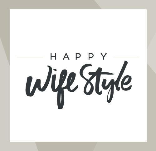 Happy WifeStyle Logo Design by Dapper Fox