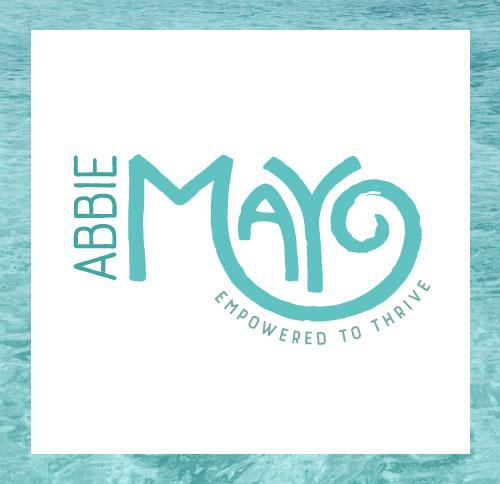 Ocean- Inspired Modern Logo and Brand Design by Dapper Fox - Health Coach Abbie Mayo