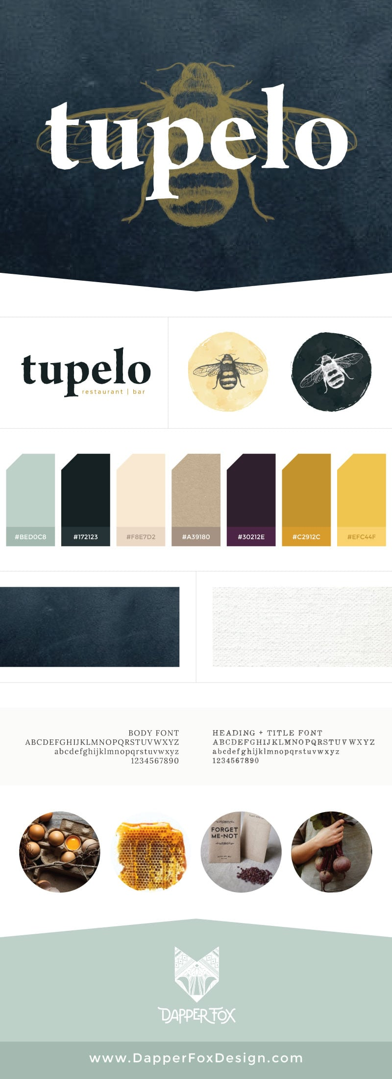 Tupelo Park City Branding Website Design Dapper Fox Design Branding Website Design