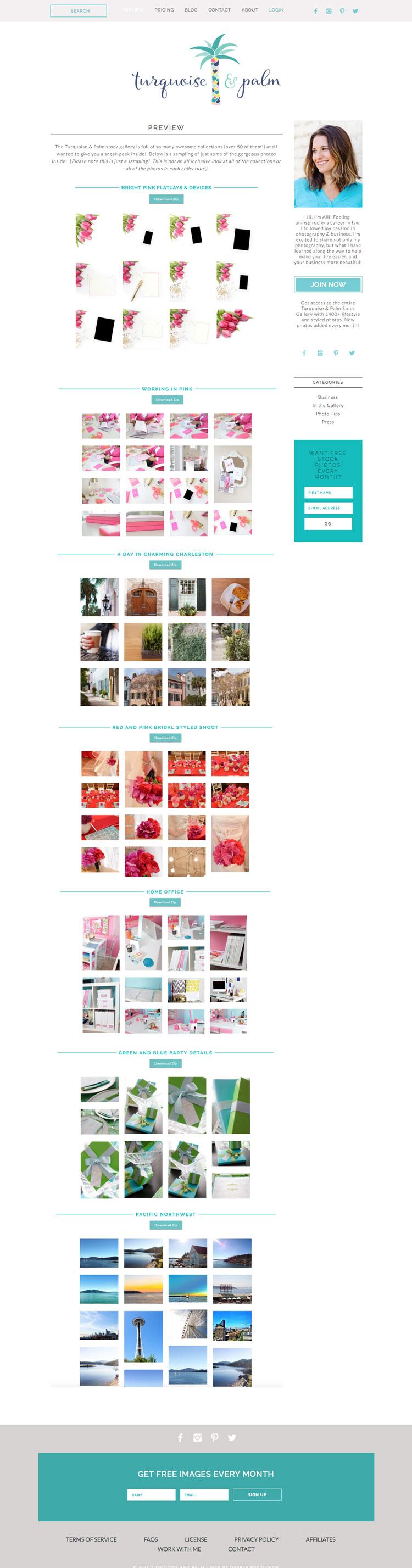 Photography Website Design by Dapper Fox