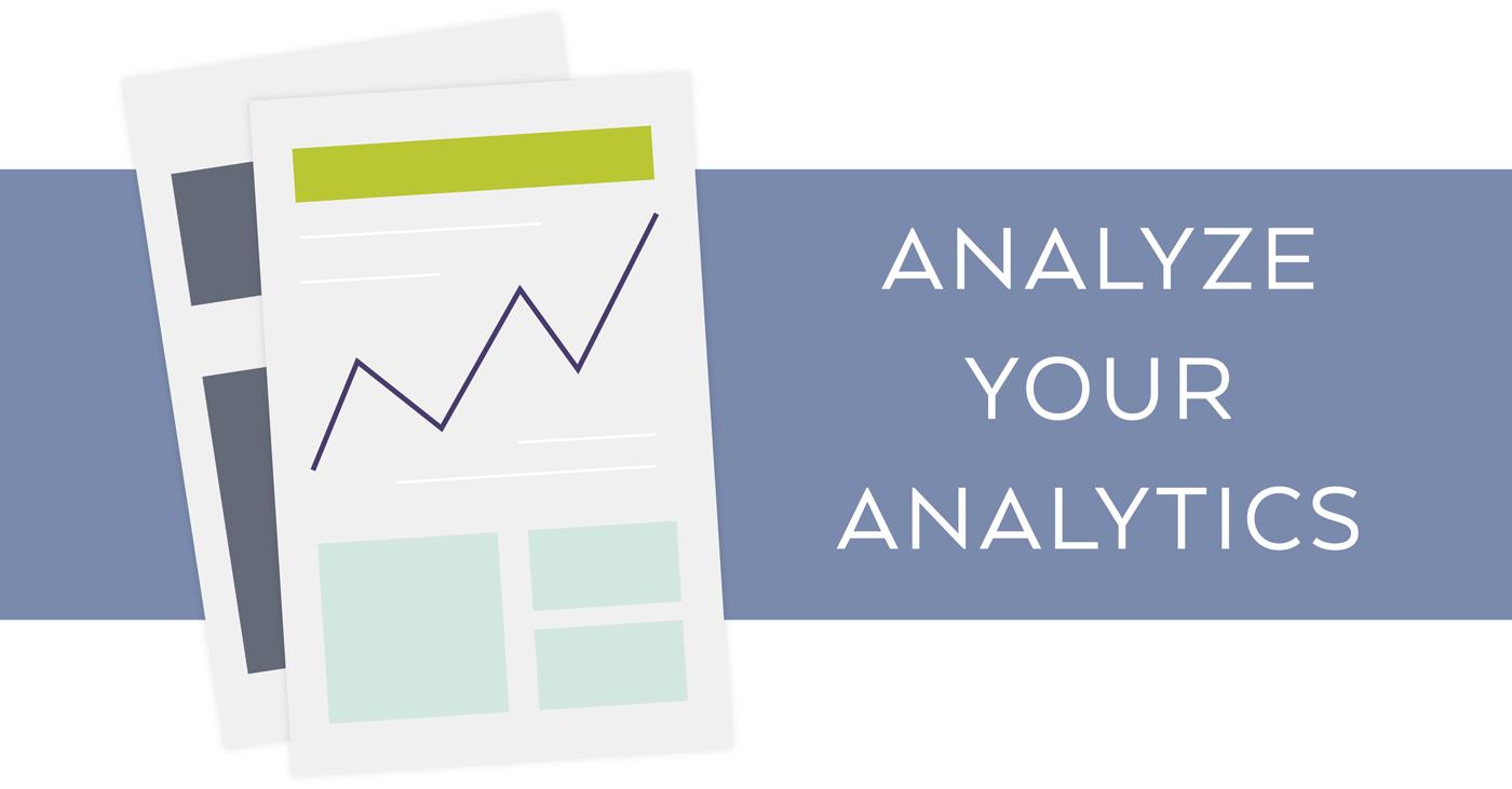 Analyze your analytics for best SEO keywords