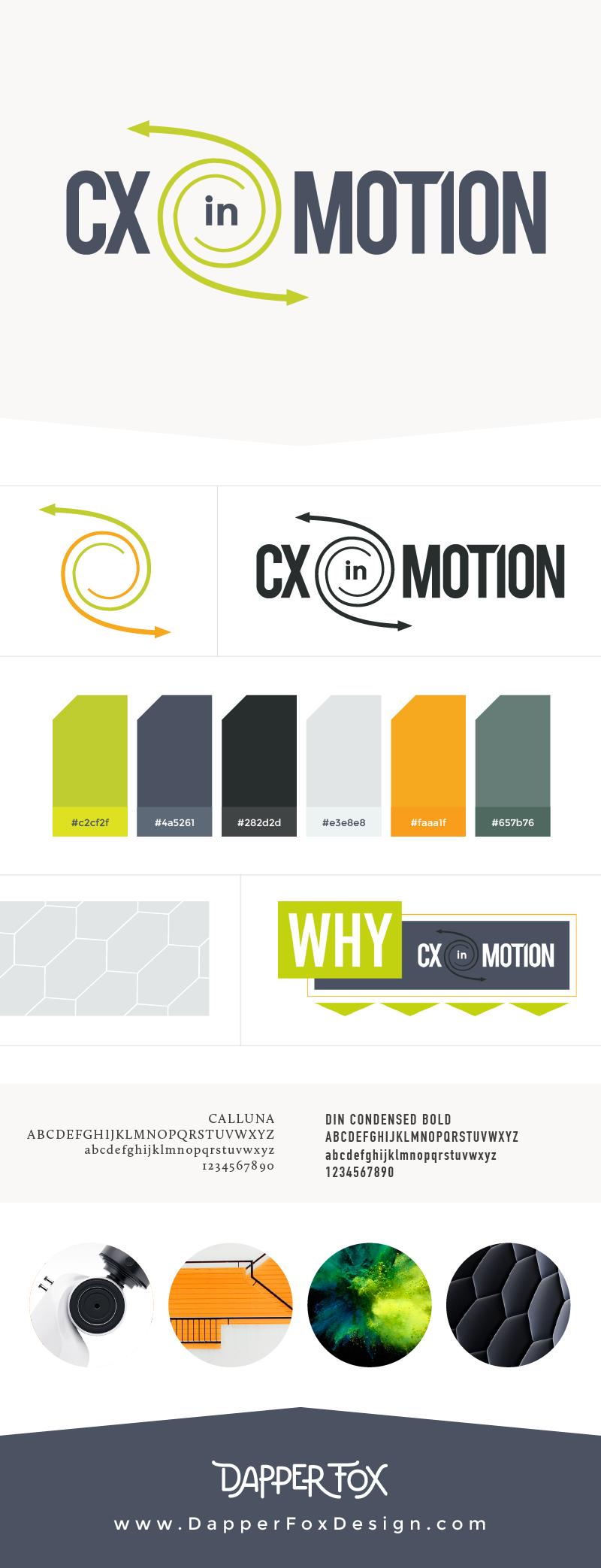 CX in Motion - Technology Company based in UK - Modern Logo and Branding - Logo, Blog and Website Design by Dapper Fox in Park City, Utah.  #modernlogo  #corporatelogo    #consultantlogo  #cleanlogo  #logodesigninspiration  #logodesign    #branding