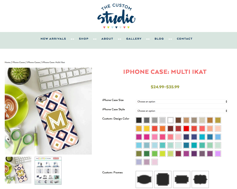 Wordpress Website Design for ecommerce by Dapper Fox Design in Park City Utah
