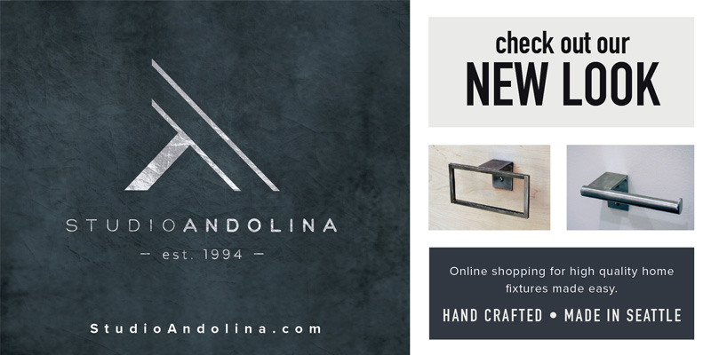 Check out StudioAndolina's New Logo and Brand