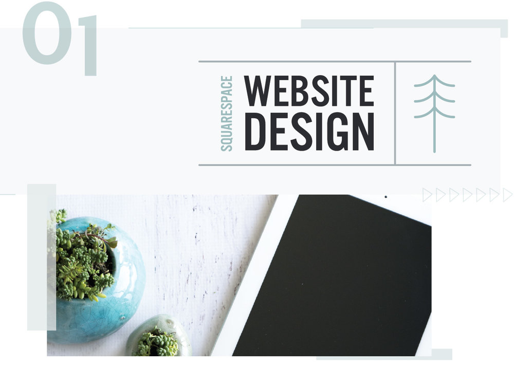 Squarespace website design by Dapper Fox