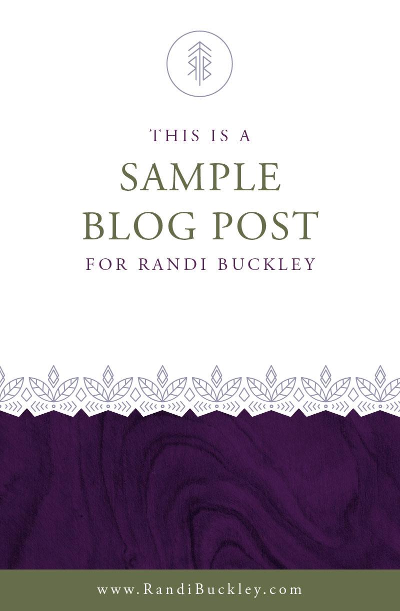 Purple Squarespace Blog Design Post Templates by Dapper Fox
