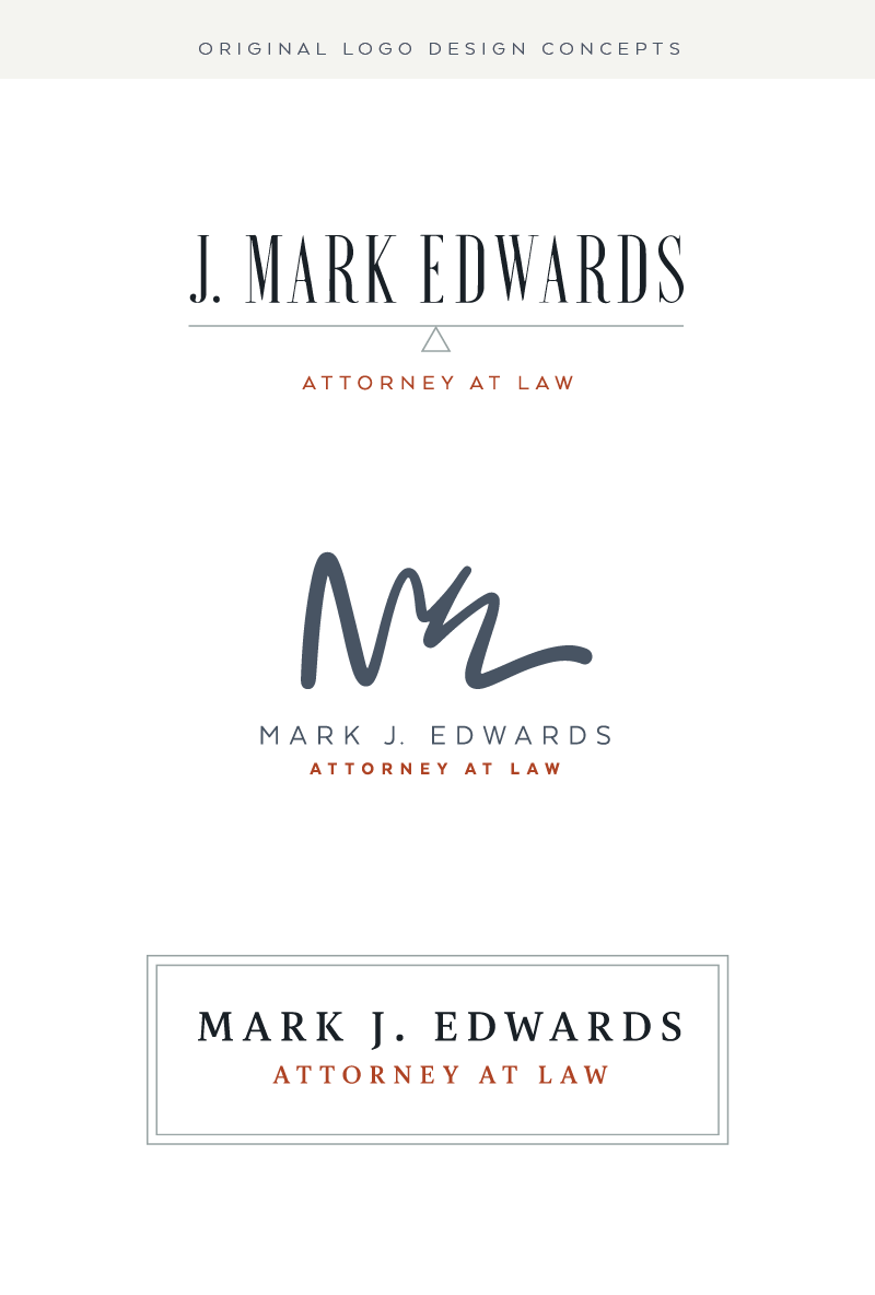 Attorney Lawyer Logo Design Ideas - Brand and Logo Designer Utah - Modern, Professional Logos