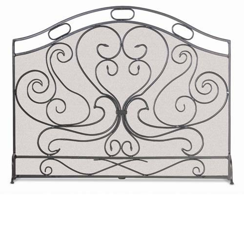 Napa Forge Single Panel Fireplace Gate