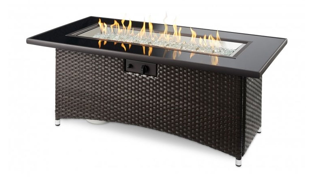 Balsam Montego Linear Fire Table