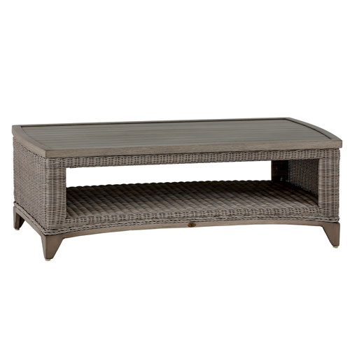 Astoria Coffee Table - Dimensions: W48.25 D25.25 H16.75