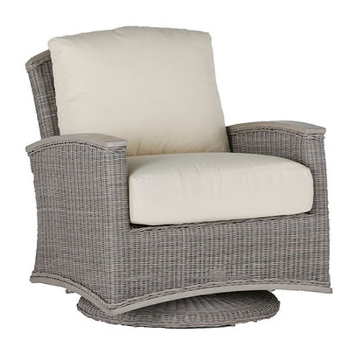 Astoria Swivel Glider - Dimensions: W32 D35.75 H35.75