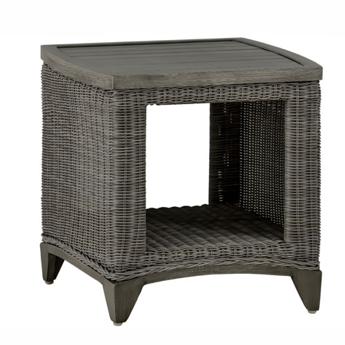 Astoria End Table - Dimensions: W21 D21 H21.5