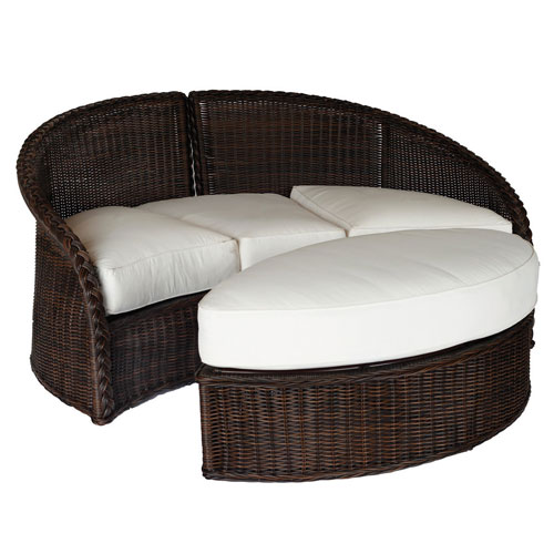 sedona daybed ottoman - Dimensions: W58.5 D26.5 H12