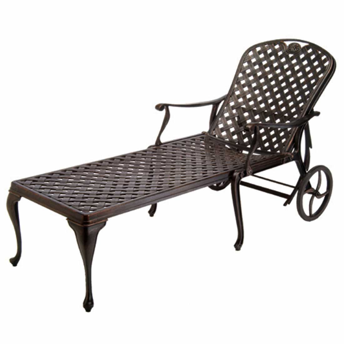 provance chaise lounge - Dimensions: W31 D78.38 H41.75