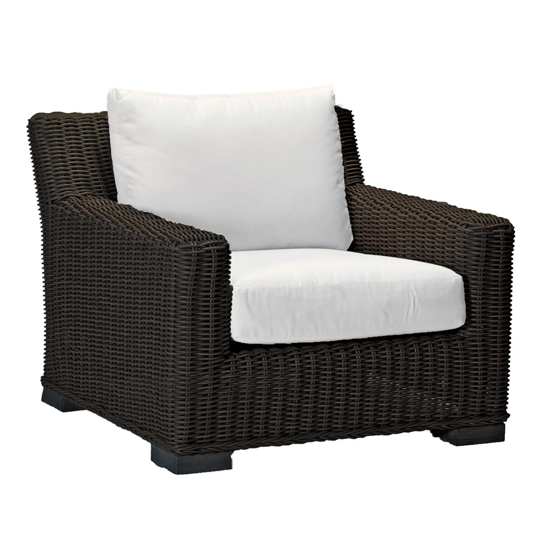 rustic lounge chair - Dimensions: W37.25 D38 H30.75