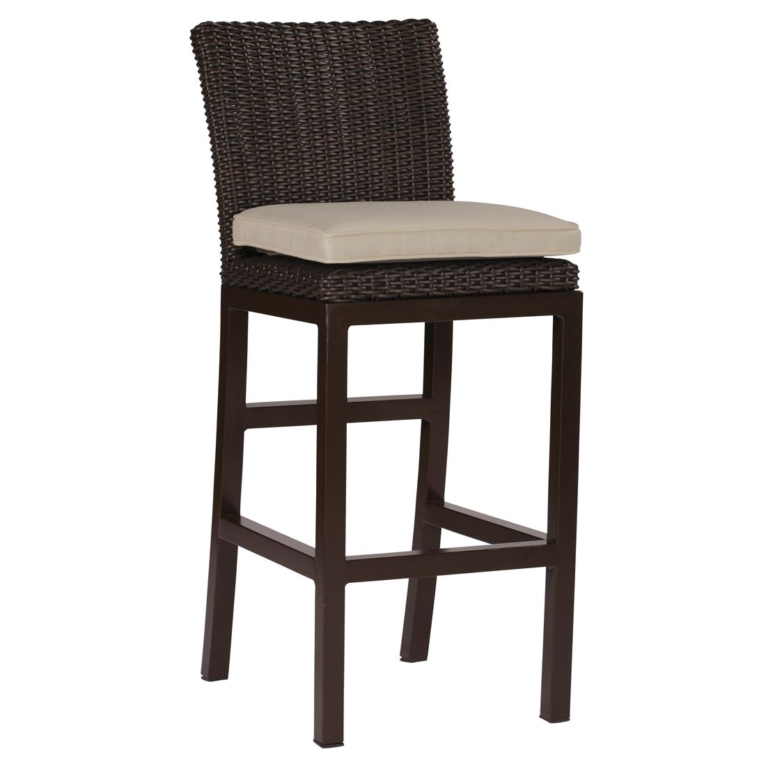 "rustic 30.5"" Bar Stool - Dimensions: W18.5 D24 H45"