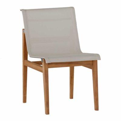 coast Teak side chair - Dimensions: W18.5 D24 H31