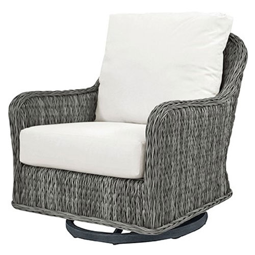 Belfort Club Swivel Rocker - Dimensions: W29 D36 H34