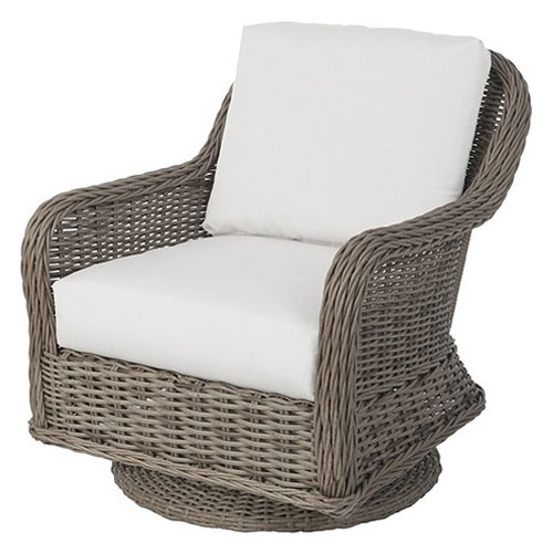 Bellevue Club Swivel Rocker - Dimensions: W29 D36 H34