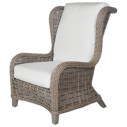 Bellevue Wingback Club - Dimensions: W31 D37.5 H41