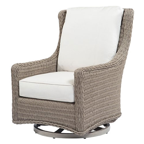Geneva Club Swivel Glider - Dimensions: W32 D39.5 H40.5