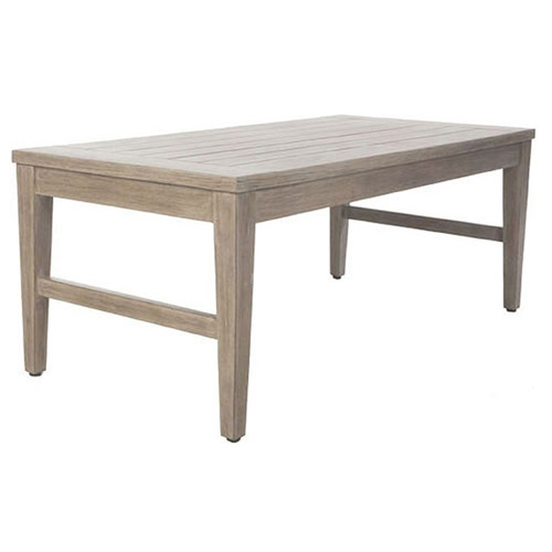 Portofino Coffee Table - Dimensions: W45.75 D23 H20