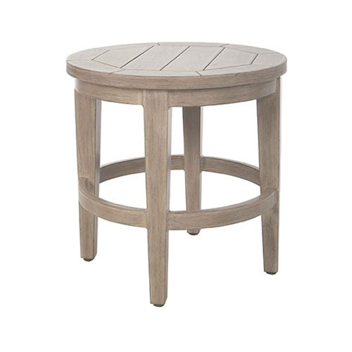 Portofino Round Side Table - Dimensions: W20 D20 H20