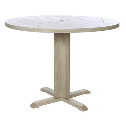 Portofino Round Dining Table - Dimensions: W50 D50 H29