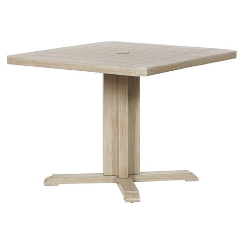 Portofino Square Dining Table - Dimensions: W36 D36 H29
