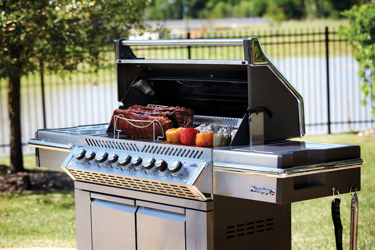 Grills & Smokers Section