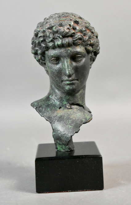 """This one: Composition Greek Head, 8 1/2""""h in our December Buy It Now sale."""