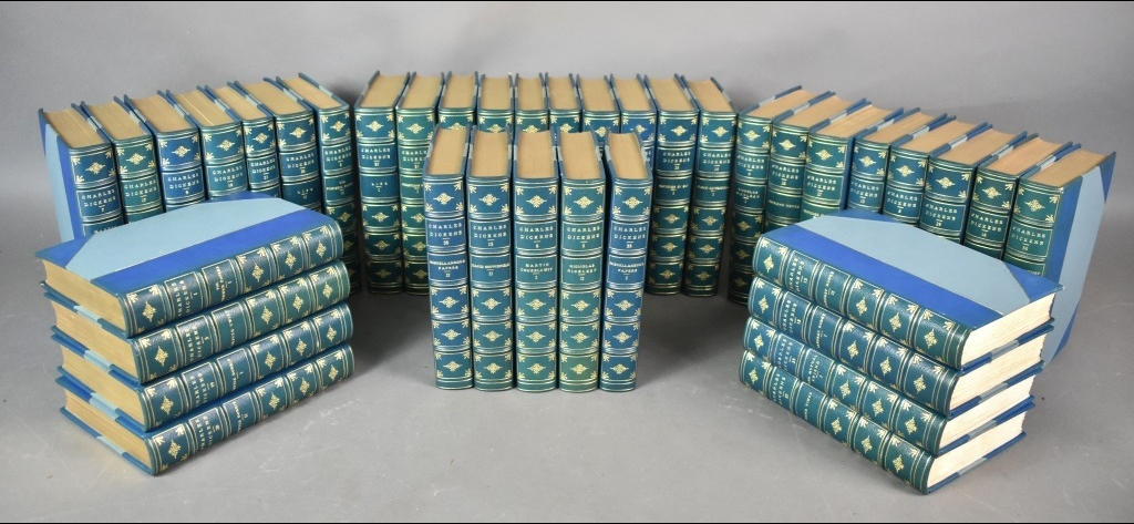 Lot 130 from our October sale: The works of Charles Dickens