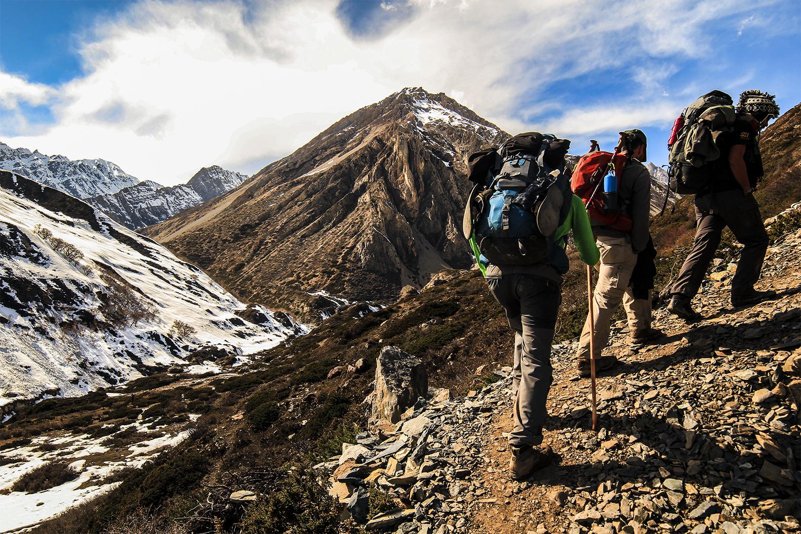 hiking nepal thisworldexists