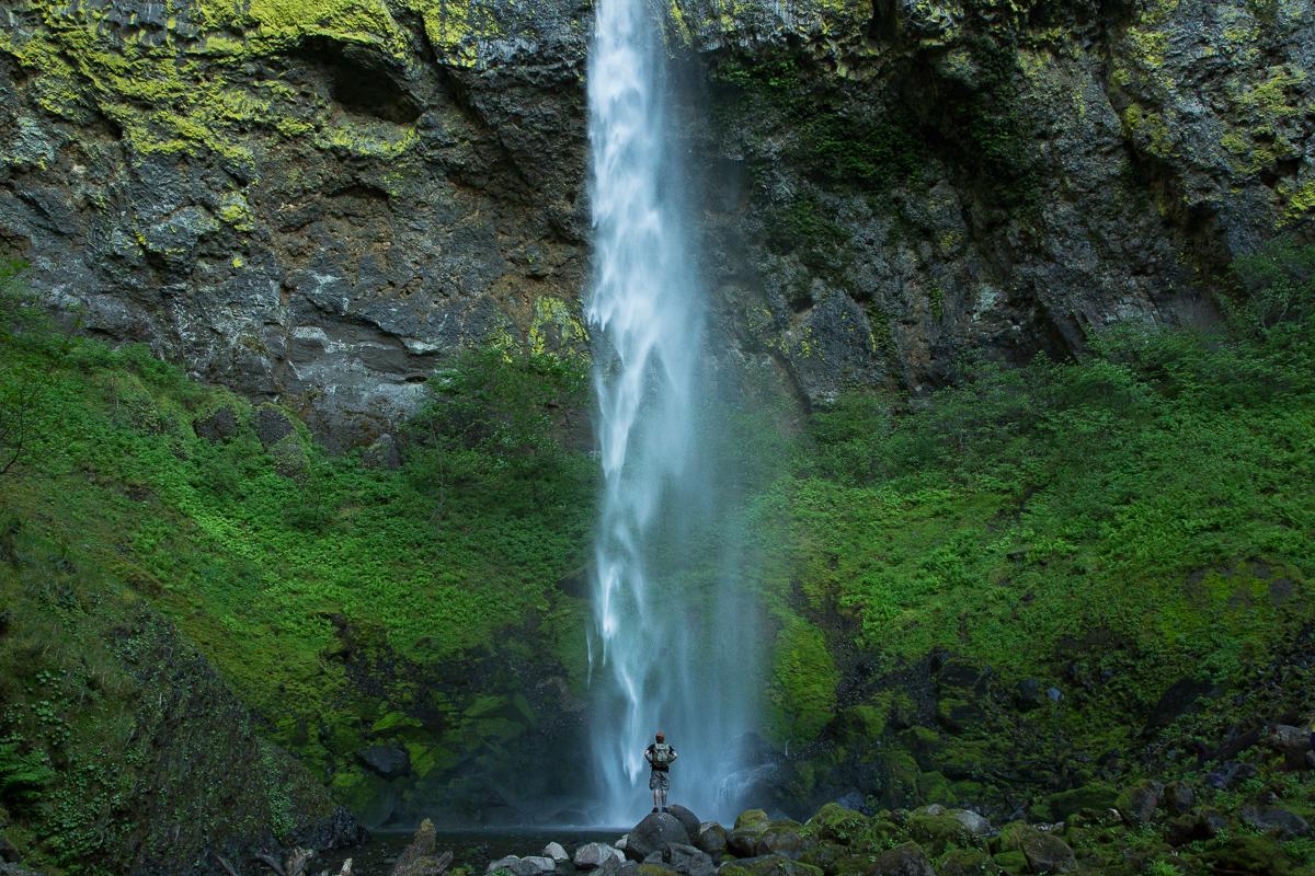waterfall ryan thompson thisworldexists adventure
