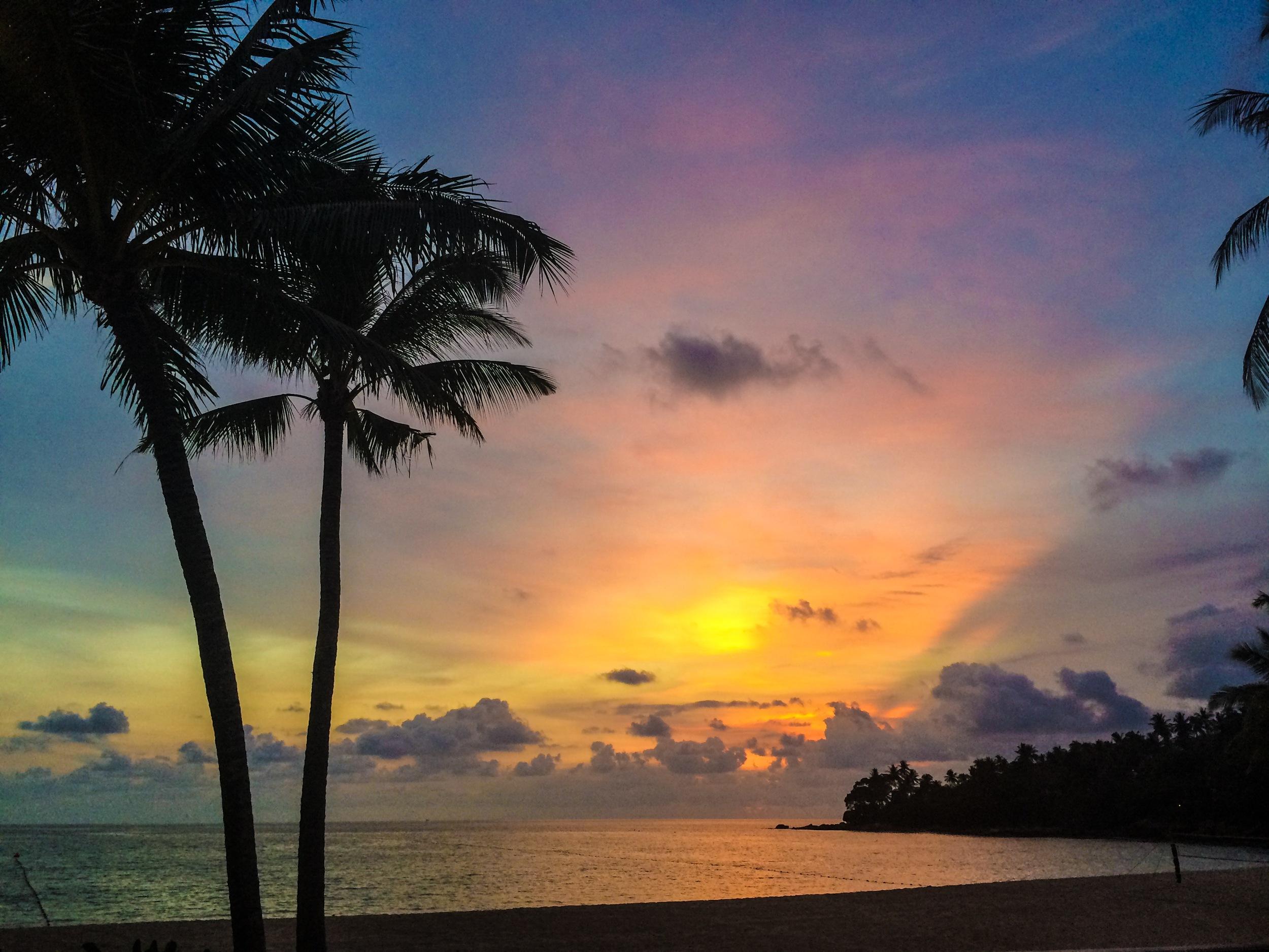 sunset thailand beach thisworldexists lauren baxter