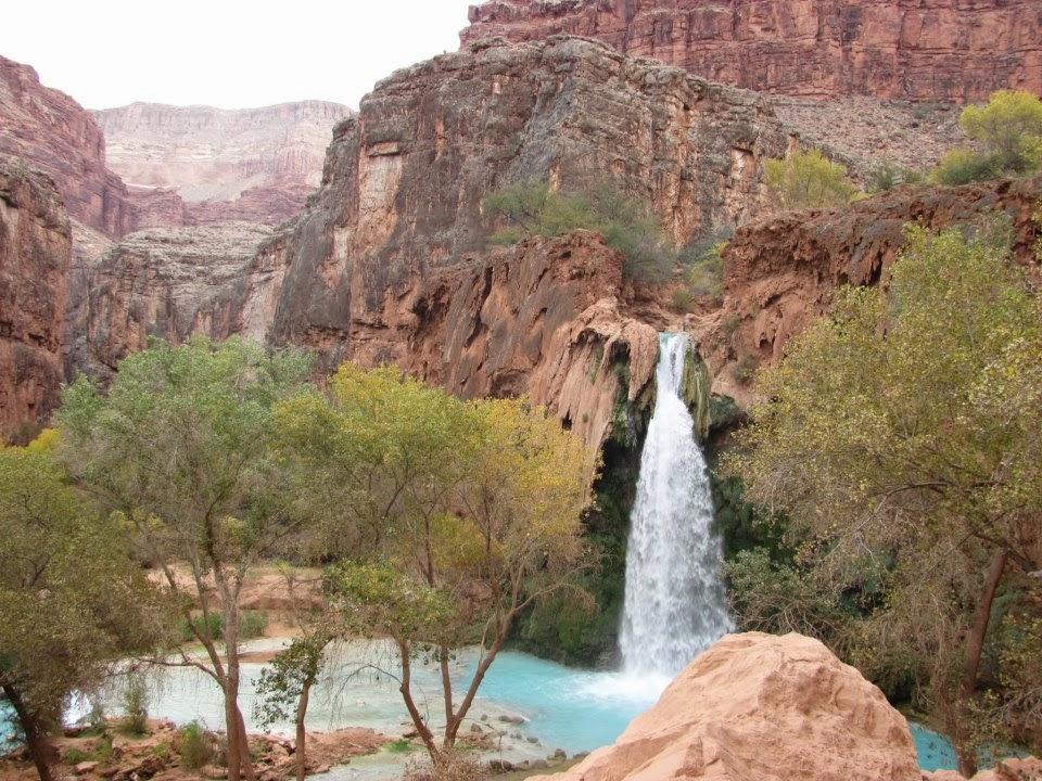 Havasupai waterfall arizona thisworldexists