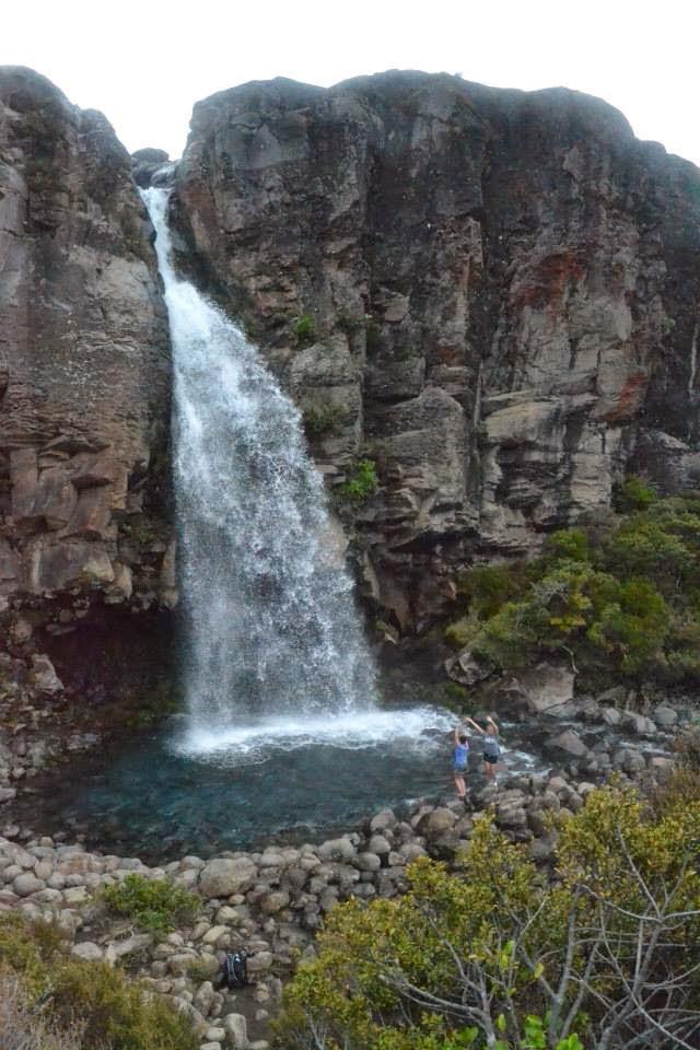 Taranaki waterfall thisworldexists