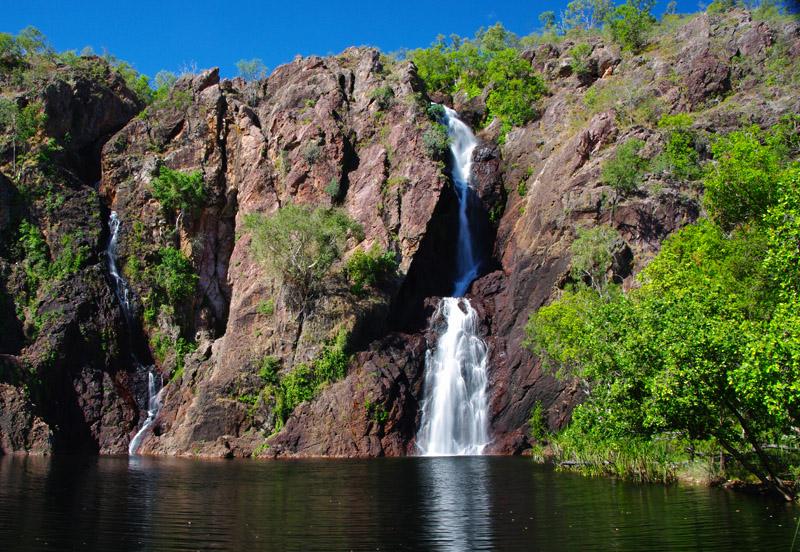 Wangi waterfall northern territory thisworldexists