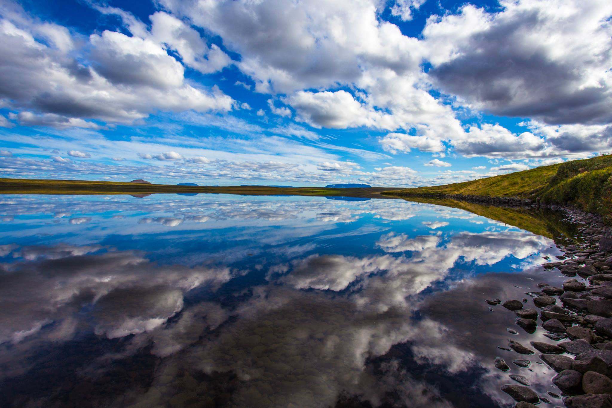 lake reflection thisworldexists dean chytraus iceland this world exists