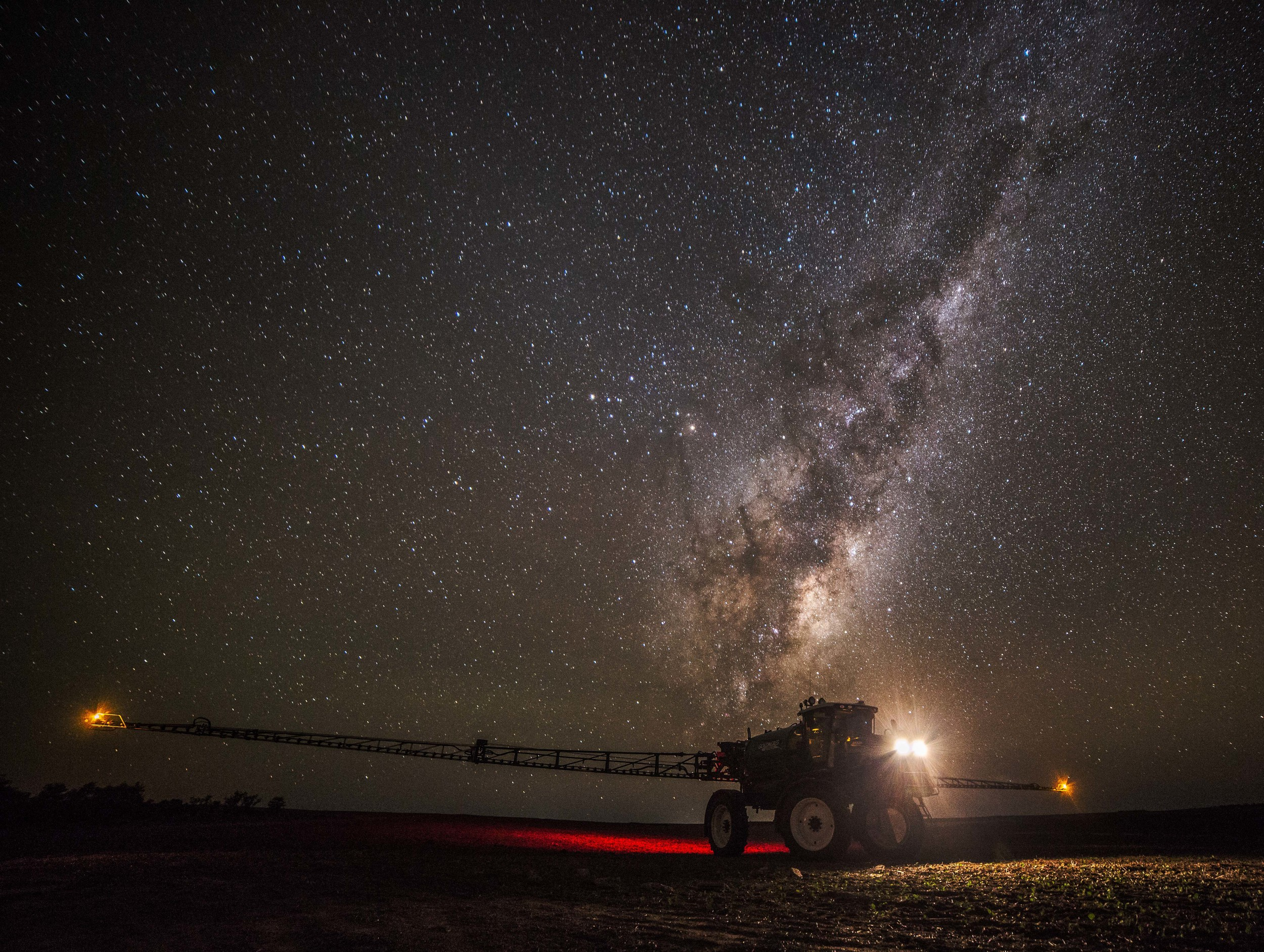 stars tractor farm thisworldexists this world exists night photography tips