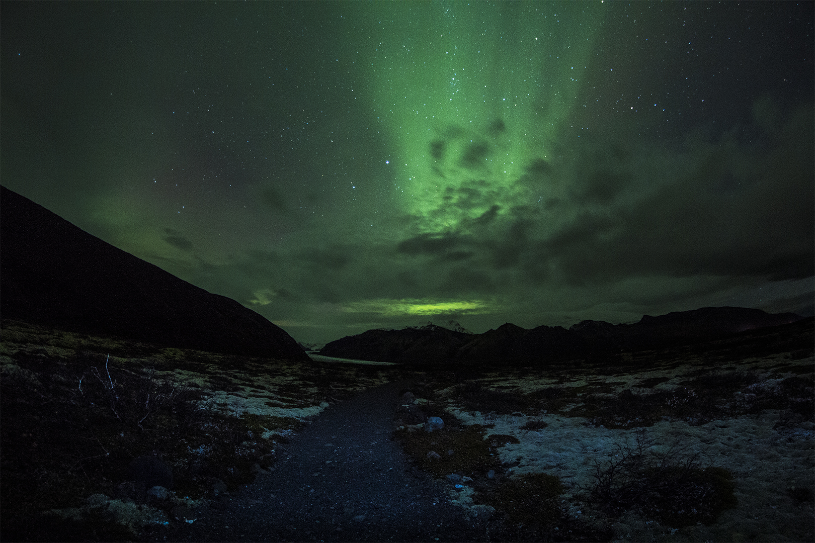Glacier northern lights iceland stars thisworldexists this world exists eric bennett