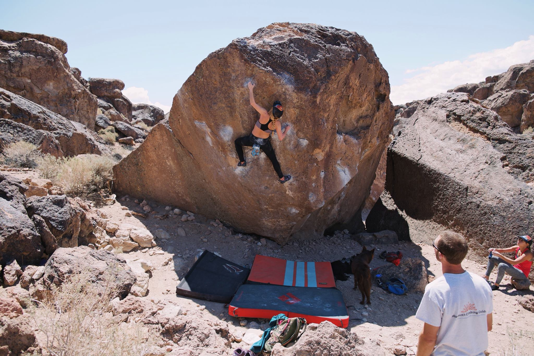 rock climbing bouldering madison dusseau thisworldexists this world exists