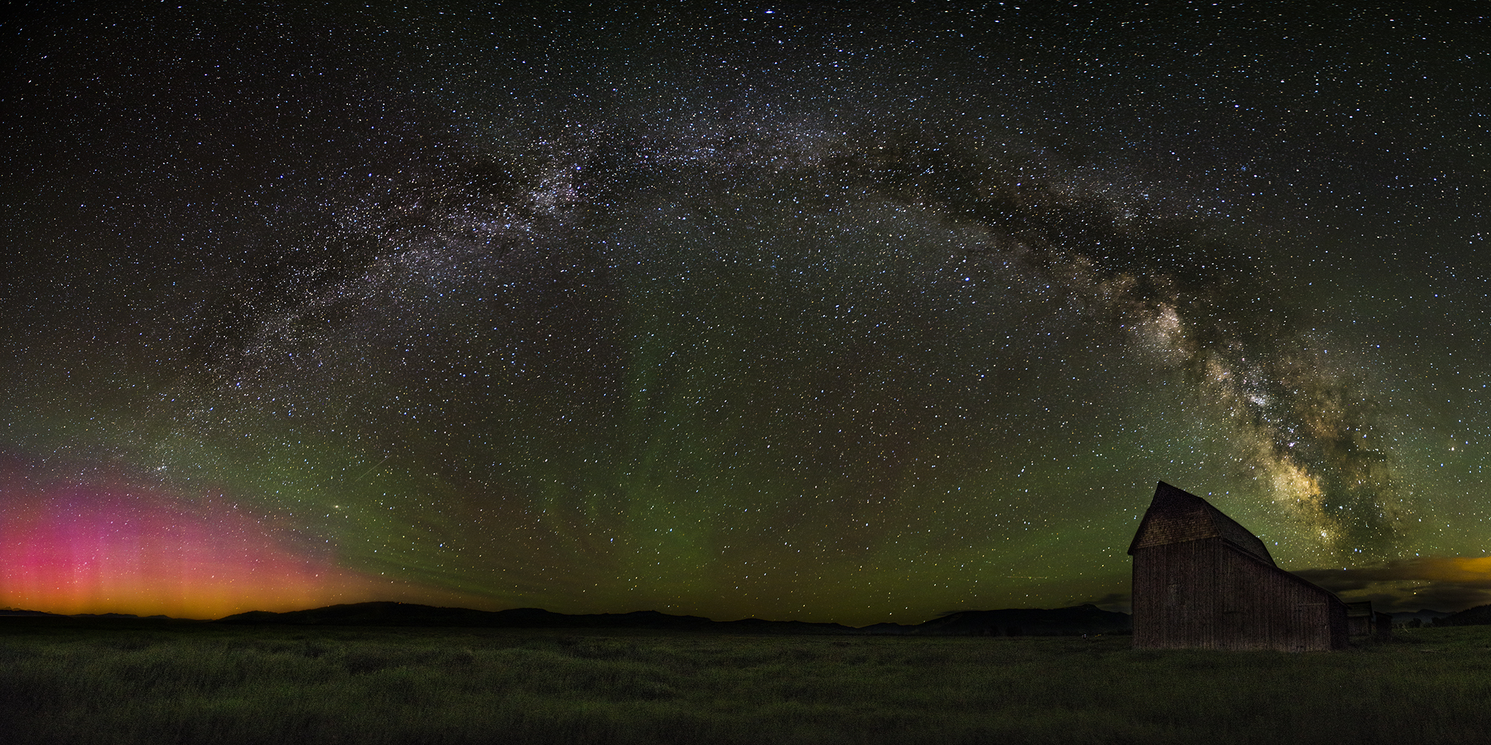 Northern Lights Milky Way thisworldexists this world exists